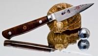 Кухонный нож Hiro Shiki Paring 80mm - Интернет магазин Японских кухонных туристических ножей Vip Horeca