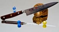 Кухонный нож Hiro Shiki Petty 150mm - Интернет магазин Японских кухонных туристических ножей Vip Horeca