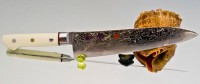 Кухонный нож Hiro Shiki Gyuto 180mm - Интернет магазин Японских кухонных туристических ножей Vip Horeca