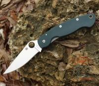 Складной нож Spyderco Military, G-10 Handle, Plain, CTS 204P - Интернет магазин Японских кухонных туристических ножей Vip Horeca