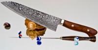 Кухонный нож Mr. Tanaka R2 Gyuto 210mm - Интернет магазин Японских кухонных туристических ножей Vip Horeca