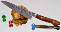 Кухонный нож Mr. Tanaka R2 Petty 150mm - Интернет магазин Японских кухонных туристических ножей Vip Horeca