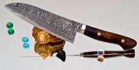 Кухонный нож Mr. Tanaka R2 Santoku 170mm - Интернет магазин Японских кухонных туристических ножей Vip Horeca