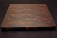 """Доска разделочная торцевая BoardSMITH Орех 16""""х22"""" - Интернет магазин Японских кухонных туристических ножей Vip Horeca"""