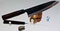 Кухонный нож  Watanabe Gyuto 210mm - Интернет магазин Японских кухонных туристических ножей Vip Horeca