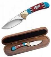 Нож BUCK модель 0113YISLE Yellowhorse Wild Mustangs - Интернет магазин Японских кухонных туристических ножей Vip Horeca