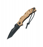 Нож Pohl Force Bravo 2 Desert модель 1030 - Интернет магазин Японских кухонных туристических ножей Vip Horeca