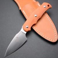 Туристический нож G.Sakai, Camper En Fixed / ZDP-189, Vermilion G-10 - Интернет магазин Японских кухонных туристических ножей Vip Horeca