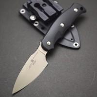 Туристический нож G.Sakai, Camper En Fixed / ZDP-189, Black FRN - Интернет магазин Японских кухонных туристических ножей Vip Horeca