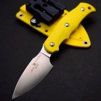 Туристический нож G.Sakai, Camper En Fixed / ZDP-189, Yellow FRN - Интернет магазин Японских кухонных туристических ножей Vip Horeca