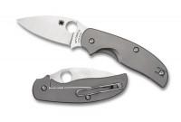 Складной нож Spyderco Sage 2, Titanium Handle, CPM-S30V, Plain - Интернет магазин Японских кухонных туристических ножей Vip Horeca
