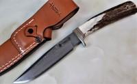 Hattori 傘 SAN Limited Edition SAN-10 Cowry-X Damascus Wild Hunter II  - Интернет магазин Японских кухонных туристических ножей Vip Horeca