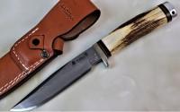 Hattori 傘 SAN Limited Edition SAN-11 Cowry-X Damascus Wild Hunter II Premium - Интернет магазин Японских кухонных туристических ножей Vip Horeca