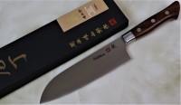 Hattori 傘 SAN Limited Edition SAN-7 VG-10 Santoku 170mm  - Интернет магазин Японских кухонных туристических ножей Vip Horeca