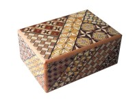 Японская коробка с секретом (Japan Puzzle Box) Yosegi 120x85X50мм, 12 шагов до открытия - Интернет магазин Японских кухонных туристических ножей Vip Horeca