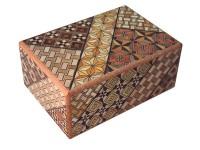 Японская коробка с секретом (Japan Puzzle Box) Yosegi 120x85X50мм, 14 шагов до открытия - Интернет магазин Японских кухонных туристических ножей Vip Horeca