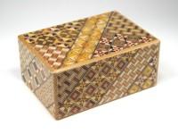 Японская коробка с секретом (Japan Puzzle Box) Yosegi 120x85X50мм, 21 шаг до открытия - Интернет магазин Японских кухонных туристических ножей Vip Horeca