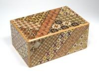 Японская коробка с секретом (Japan Puzzle Box) Yosegi 150x95X64мм, 21 шаг до открытия - Интернет магазин Японских кухонных туристических ножей Vip Horeca