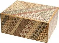 Японская коробка с секретом (Japan Puzzle Box) Yosegi 183x128x95мм,  54 шага до открытия - Интернет магазин Японских кухонных туристических ножей Vip Horeca