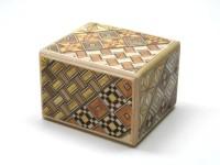 Японская коробка с секретом (Japan Puzzle Box) Yosegi 60x50X40мм, 5 шагов (полностью разборная) - Интернет магазин Японских кухонных туристических ножей Vip Horeca