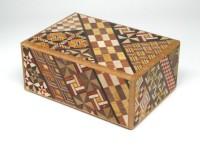 Японская коробка с секретом (Japan Puzzle Box) Yosegi 120x85X50мм, 7 шагов до открытия - Интернет магазин Японских кухонных туристических ножей Vip Horeca