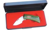 Нож/зажим для денег KATZ в подароч. коробке модель MC JW Bobcat - Интернет магазин Японских кухонных туристических ножей Vip Horeca