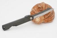 Нож складной Nagao Higonokami, Zenkou, Full steel, Black, 70mm - Интернет магазин Японских кухонных туристических ножей Vip Horeca