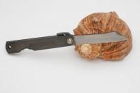 Нож складной Nagao Higonokami, Warikomi, SK5 steel, Black, 70mm - Интернет магазин Японских кухонных туристических ножей Vip Horeca
