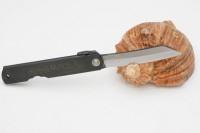 Нож складной Nagao Higonokami, Warikomi, SK5 steel, Black, 80mm - Интернет магазин Японских кухонных туристических ножей Vip Horeca