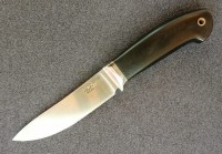 Туристический нож Романа Гончарова, сталь ZDP-189, ручка микарта - Интернет магазин Японских кухонных туристических ножей Vip Horeca