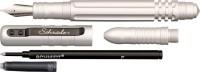 Тактическая ручка Schrade Fountain and Roller Ball Silver - Интернет магазин Японских кухонных туристических ножей Vip Horeca