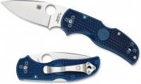 Складной нож Spyderco Native 5, Blue FRN Handle, CPM-S110V, Plain - Интернет магазин Японских кухонных туристических ножей Vip Horeca