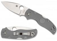 Складной нож Spyderco Native 5, Gray FRN Handle, Maxamet, Plain - Интернет магазин Японских кухонных туристических ножей Vip Horeca