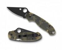 Складной нож Spyderco Para 3, G-10 Handle Digital Camo, CPM-S30V, Black Blade, Plain - Интернет магазин Японских кухонных туристических ножей Vip Horeca