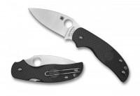 Складной нож Spyderco Sage 5,  Black FRN Handle, CPM-S30V, Plain - Интернет магазин Японских кухонных туристических ножей Vip Horeca