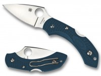 Spyderco Dragonfly 2, Blue FRN Handle, K390 Steel, Plain - Интернет магазин Японских кухонных туристических ножей Vip Horeca