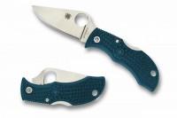 Spyderco Manbug, Blue FRN handle, K390 Steel, Plain - Интернет магазин Японских кухонных туристических ножей Vip Horeca