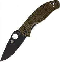 Складной нож Spyderco Tenacious, OD FRN Handle, Black Blade, Plain - Интернет магазин Японских кухонных туристических ножей Vip Horeca