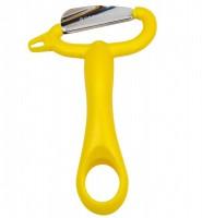 Овощечистка Suncraft (желтая) - Интернет магазин Японских кухонных туристических ножей Vip Horeca