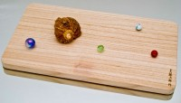 Разделочная доска Paulownia 420х235х20mm - Интернет магазин Японских кухонных туристических ножей Vip Horeca
