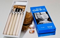 Набор резцов по дереву Yoshiharu (5 резцов) - Интернет магазин Японских кухонных туристических ножей Vip Horeca