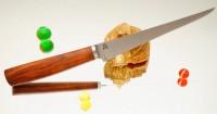 Дамир Сафаров. Классический кухонный нож, Филейный 230мм - Интернет магазин Японских кухонных туристических ножей Vip Horeca