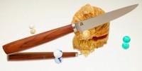 Дамир Сафаров. Классический кухонный нож, Коренчатый 110мм - Интернет магазин Японских кухонных туристических ножей Vip Horeca