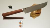 Дамир Сафаров. Классический кухонный нож, Пчак 110мм - Интернет магазин Японских кухонных туристических ножей Vip Horeca