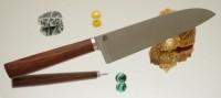 Дамир Сафаров. Классический кухонный нож, Santoku 180мм - Интернет магазин Японских кухонных туристических ножей Vip Horeca
