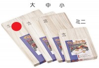 Разделочная доска Fujita Woodworks Paulownia 450х300х20mm - Интернет магазин Японских кухонных туристических ножей Vip Horeca