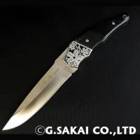 Туристический нож G.Sakai, Sakura 2 Fixed / VG-10, micarta - Интернет магазин Японских кухонных туристических ножей Vip Horeca