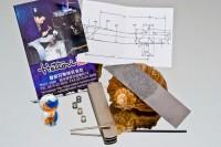 HATTORI Набор для изготовления ножа Higonokami Cowry-X - Интернет магазин Японских кухонных туристических ножей Vip Horeca
