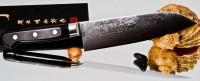 Кухонный нож Hattori HD Santoku 170mm - Интернет магазин Японских кухонных туристических ножей Vip Horeca