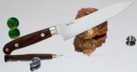 Кухонный нож Hiroshi Saito Petty 150mm - Интернет магазин Японских кухонных туристических ножей Vip Horeca